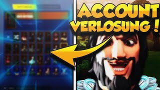 FORTNITE CONTA ALEATÓRIA VERLOSUNG! SOLUTION AT SHOP at 2:00 AM! PARTE 3 | Fortnite inglês ao vivo
