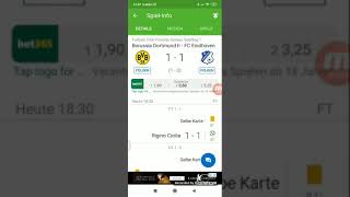 Freundschaftsspiel Borussia Dortmund ll gegen FC Eindhoven 1:1