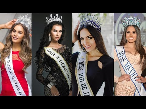 MISS WORLD 2017 - TOP 15 STRONG CONTENDERS (OCTOBER)