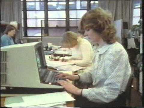 Electronic Office - Office on the Move (1984) (Episode 1)