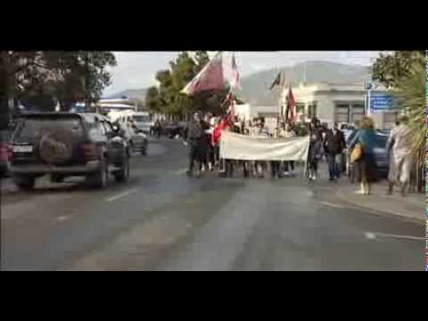 Hikoi against oil drilling
