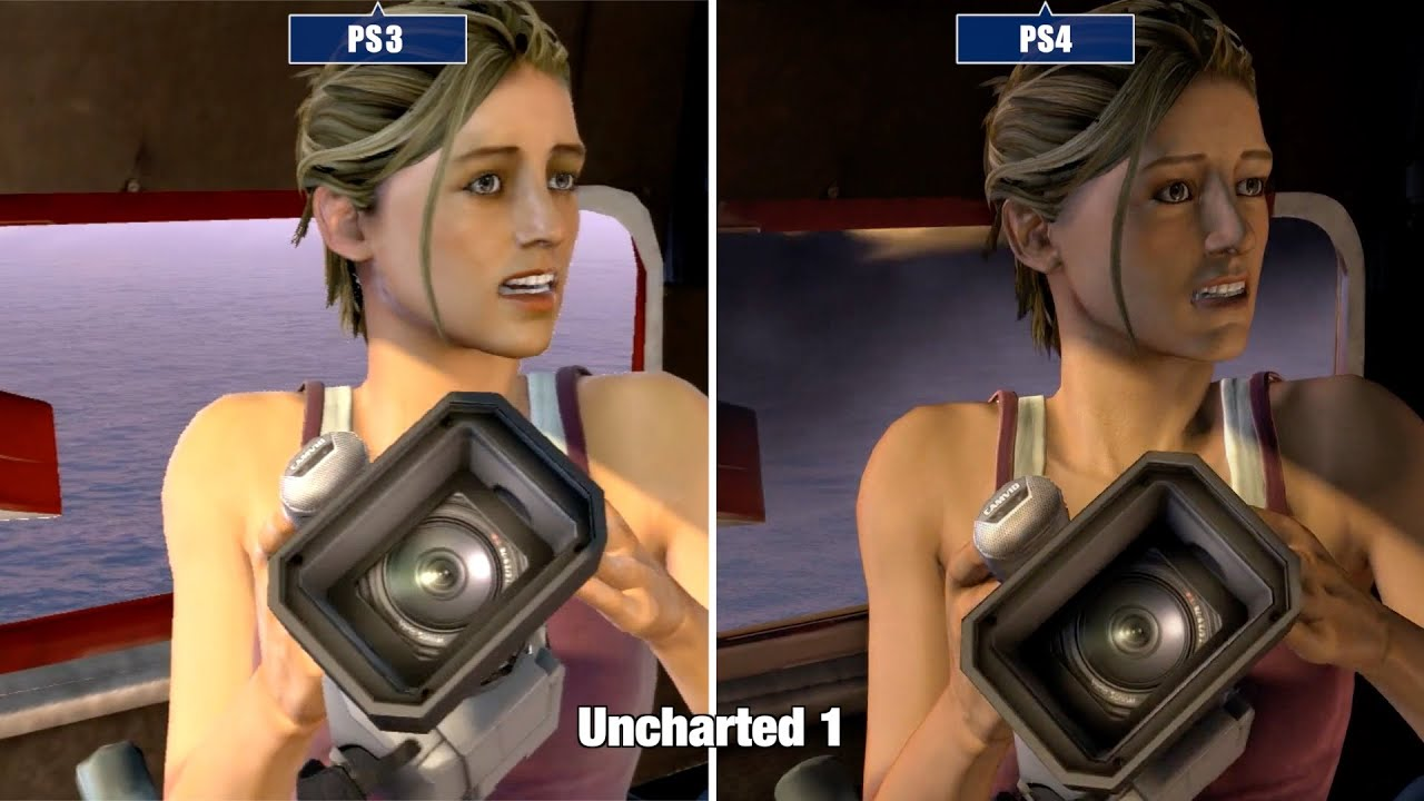 Uncharted The Nathan Drake Collection Ps4 Vs Ps3 Youtube