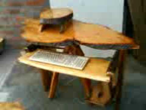 Matahuasi artesania en madera youtube for Artesanias en madera