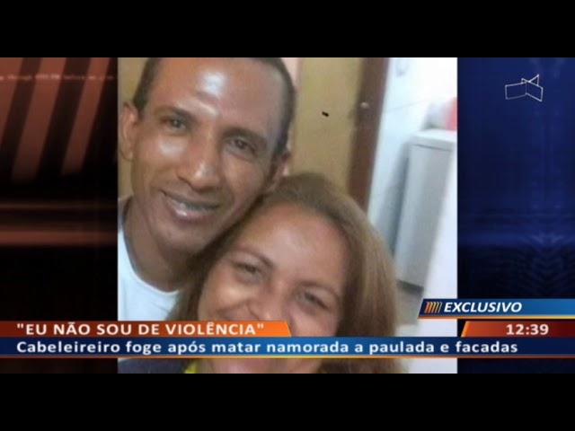 """DF ALERTA - Cabeleireiro mata namorada e foge atrás do """"bilhete premiado"""""""