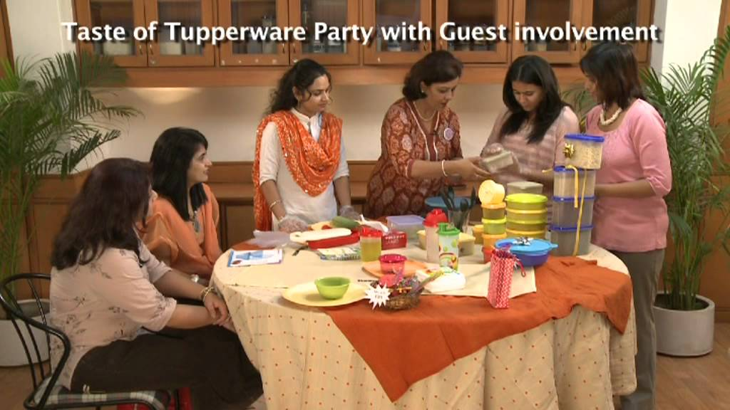 tupperware demo june party youtube. Black Bedroom Furniture Sets. Home Design Ideas