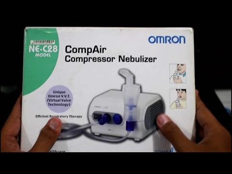 Cara Menggunakan Nebulizer di Rumah | Alat Terapi Uap Omron NE C28