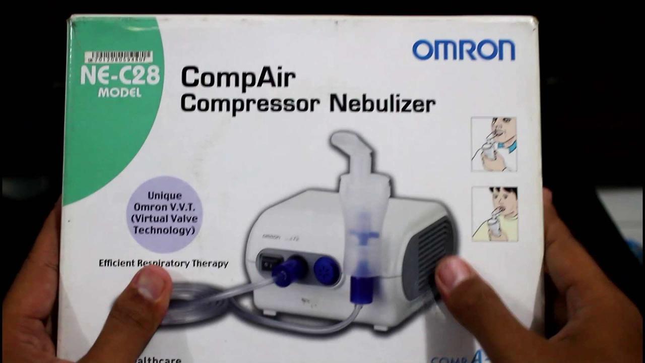 Cara Menggunakan Nebulizer di Rumah | Alat Terapi Uap ...