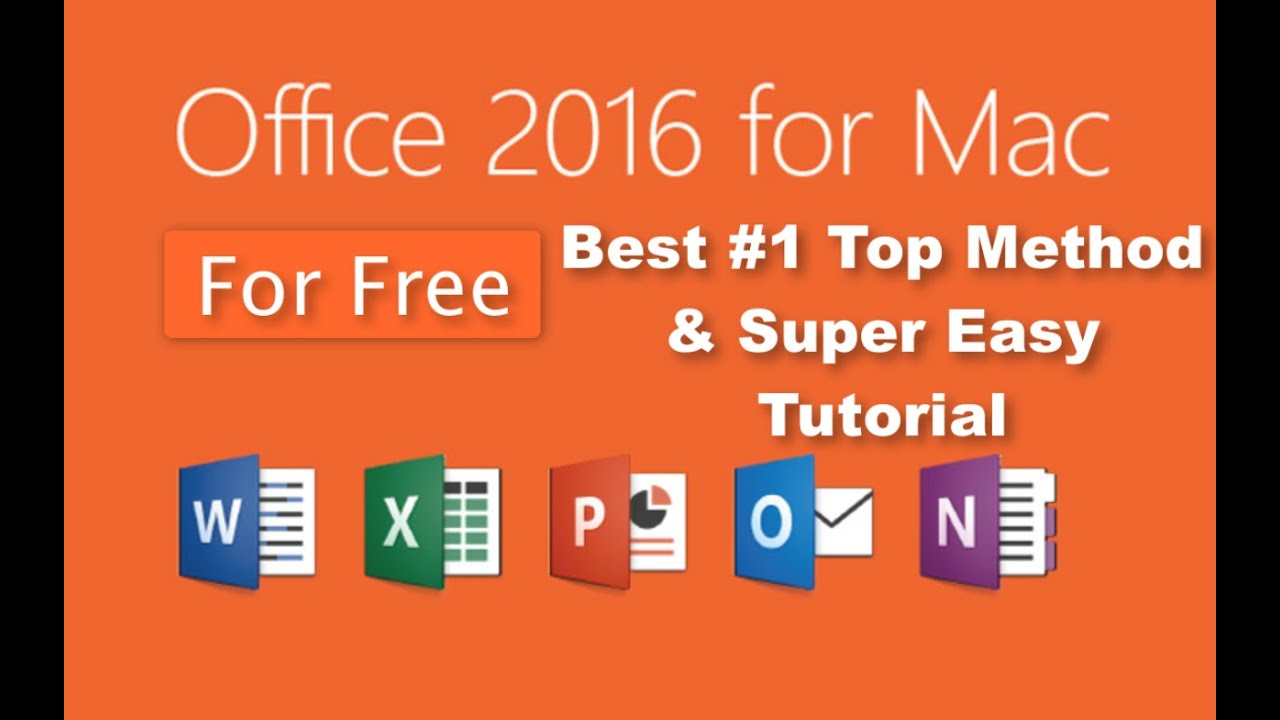 How to get microsoft office 2016 for mac free 1 method - Office for mac free download full version ...