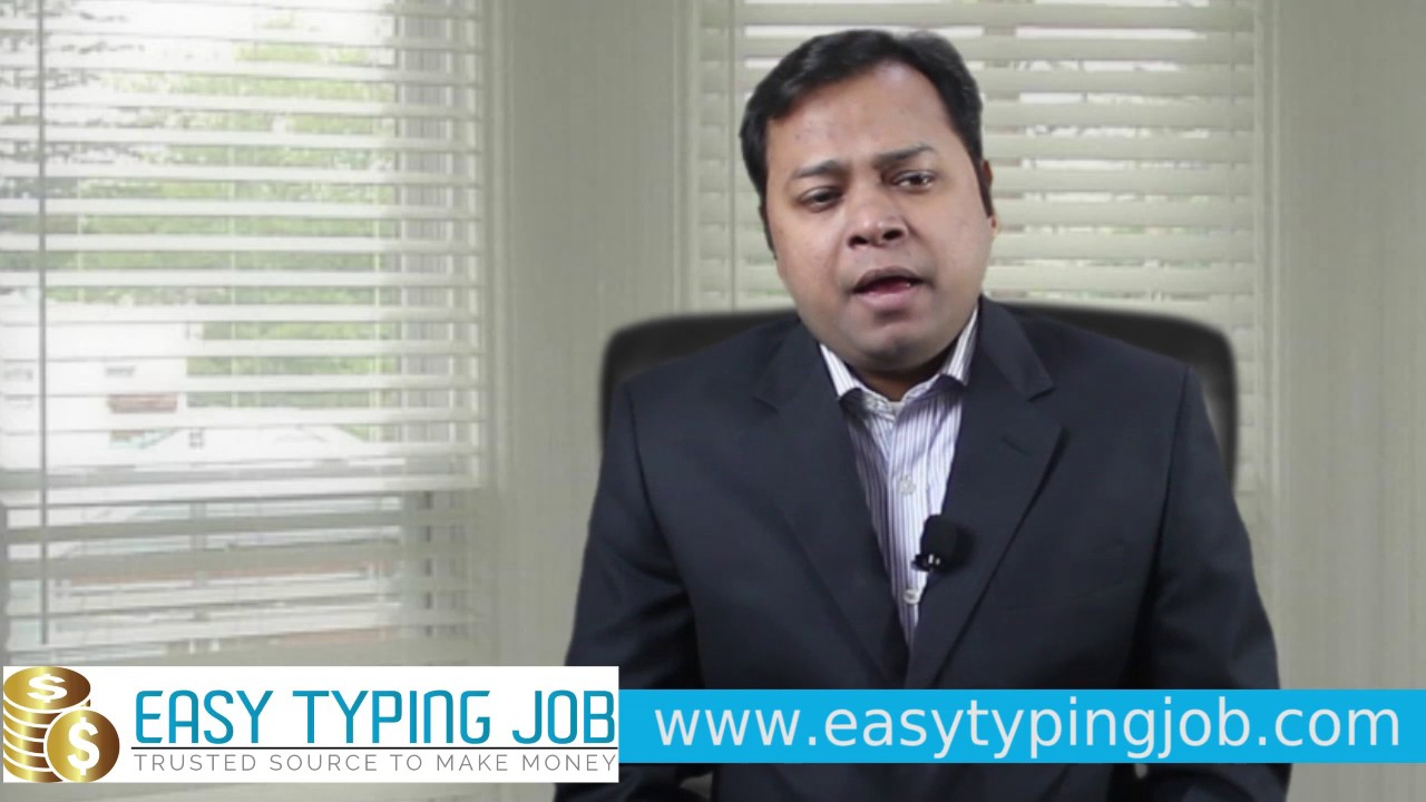 Most reliable Way to Make Money Online, Easy Typing Job - YouTube