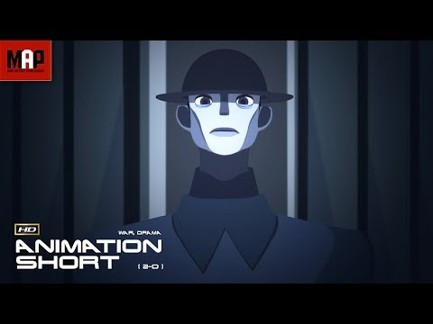 "CGI 3D Animated Short Film ""DESERTEUR"" Animation by Mathilde Dourdy"