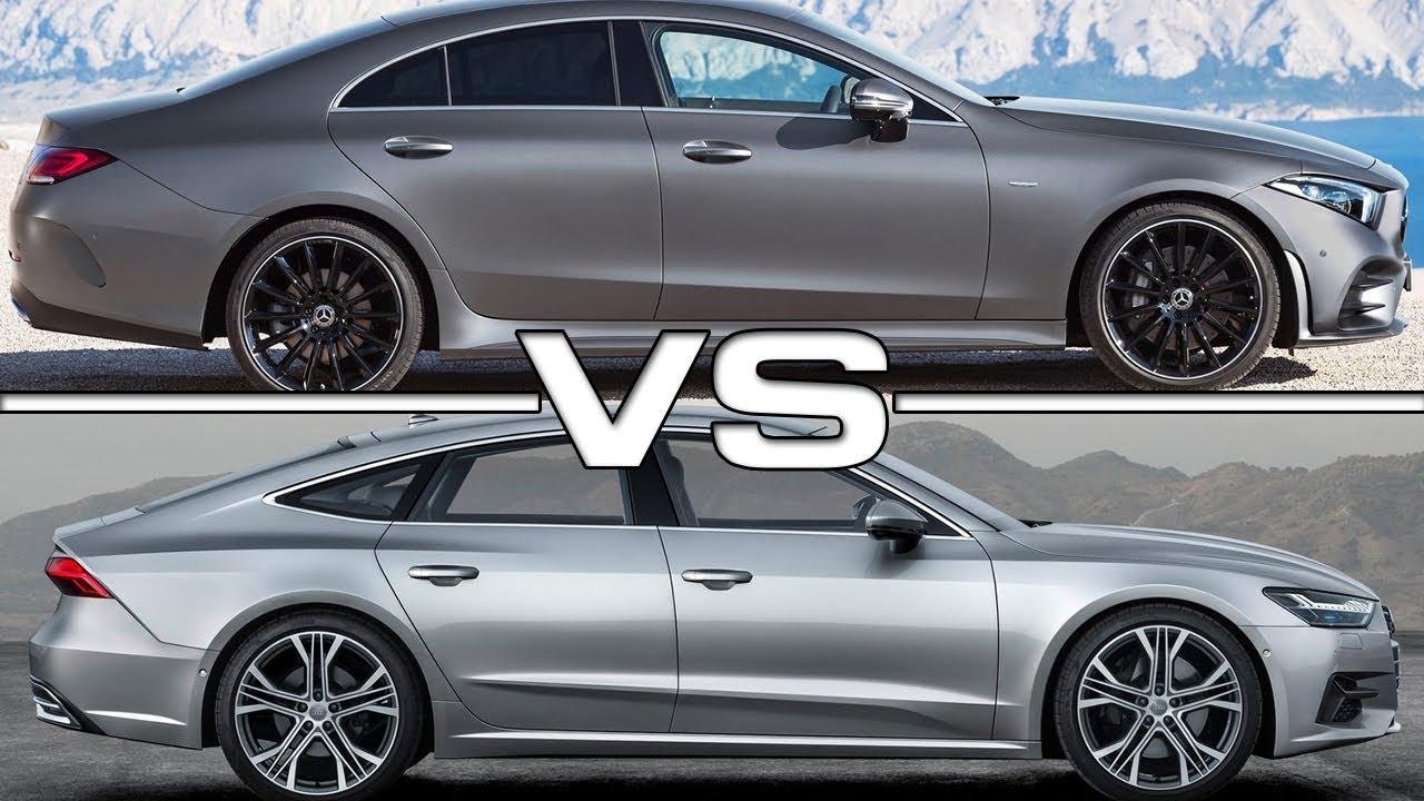 2019 Mercedes Cls Vs 2018 Audi A7 Youtube