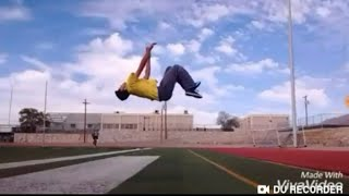 How to do a backflip without getting hurt ( no gym or spotter)- El Paso Parkour