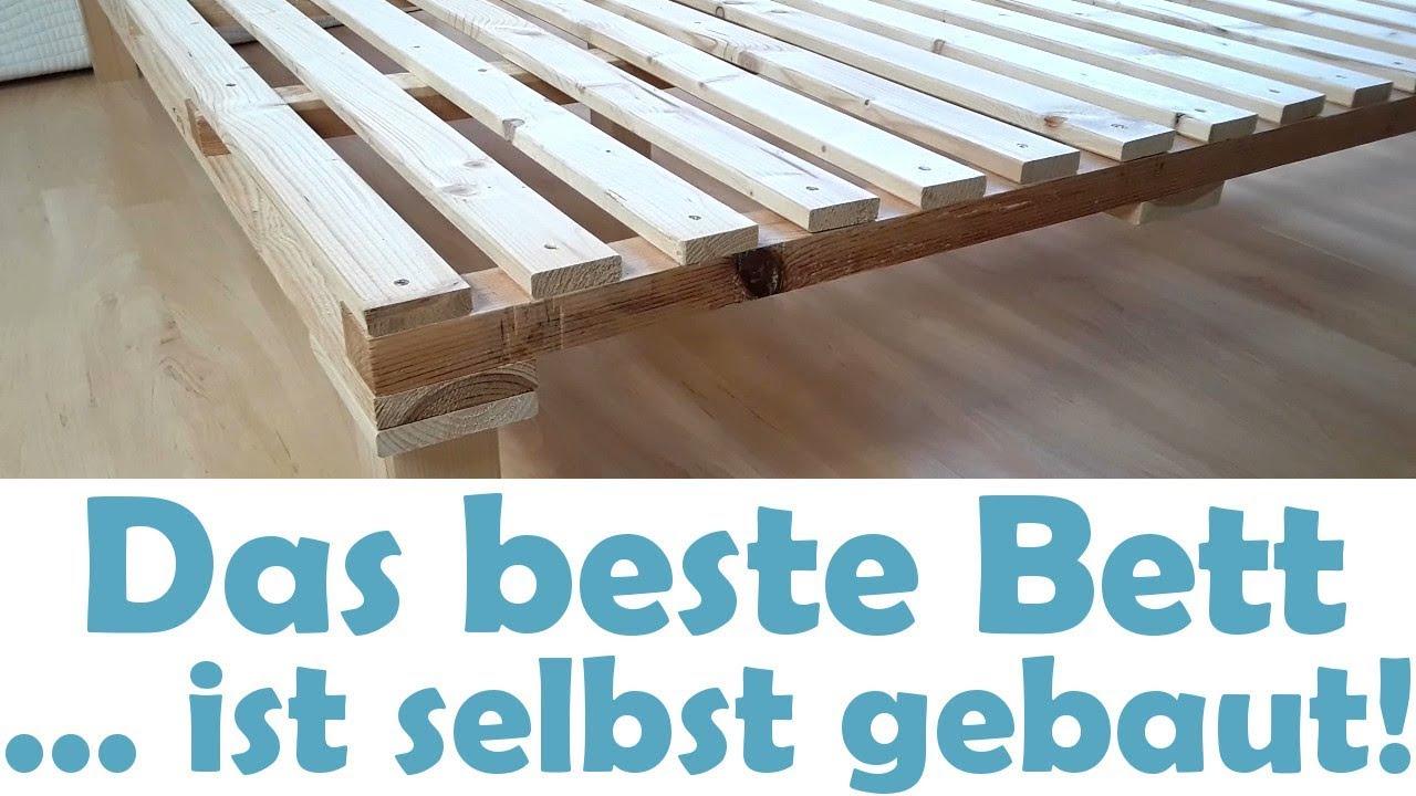 Das Beste Minimalistische Bett Ganz Einfach Selber Bauen Diy