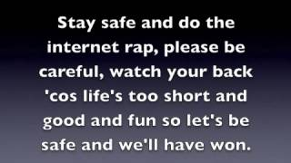 The internet safety rap karaoke