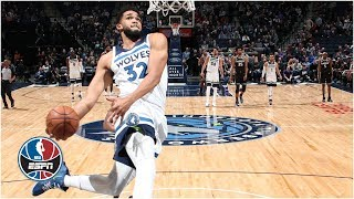 Karl-anthony Towns, Derrick Rose Power Timberwolves To Win In Towns' Return   Nba Highlights