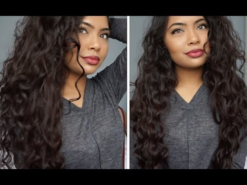 How To Natural Looking Tight Curls Hair Transformation Long