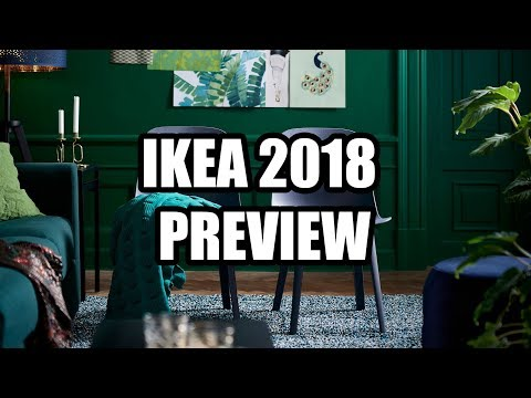 IKEA 2018 Catalog Preview - Lights, Chairs, and other Odd Trinkets,