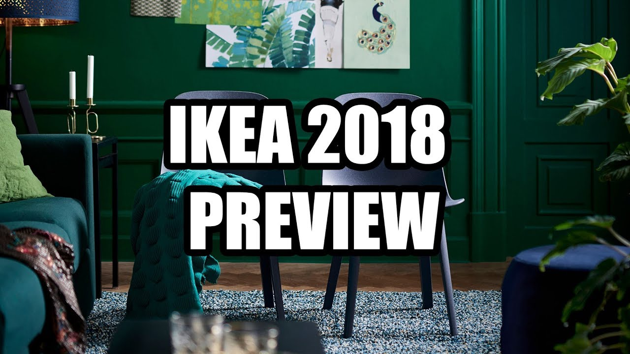 ikea 2018 catalog preview lights chairs and other odd trinkets youtube. Black Bedroom Furniture Sets. Home Design Ideas