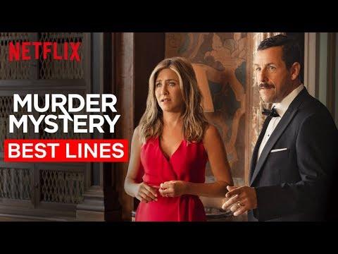 Jennifer Aniston & Adam Sandler's Best Lines | Murder Mystery | Netflix
