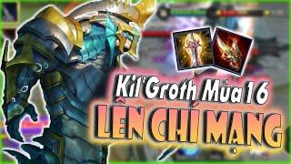 [Liên Quân] Kil'Groth Đi Rừng Mùa 16 Lên Đồ Chí Mạng - Chém Bay Đầu Team Bạn
