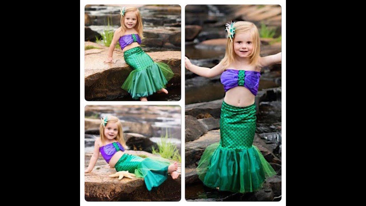 Детский карнавальный костюм русалочка, принцесса Ариэль ...