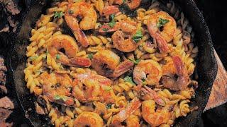 새우 푸실리 파스타 레시피 / Shrimp Fusill…