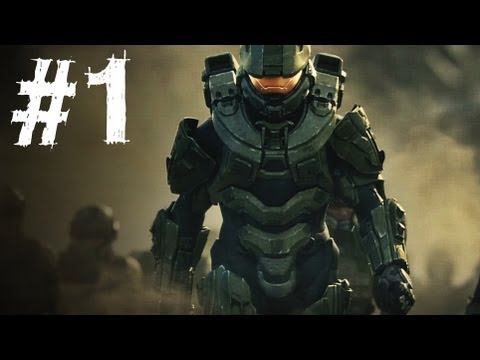 Halo 4 Gameplay Walkthrough Part 1 - Campaign Mission 1 - Da