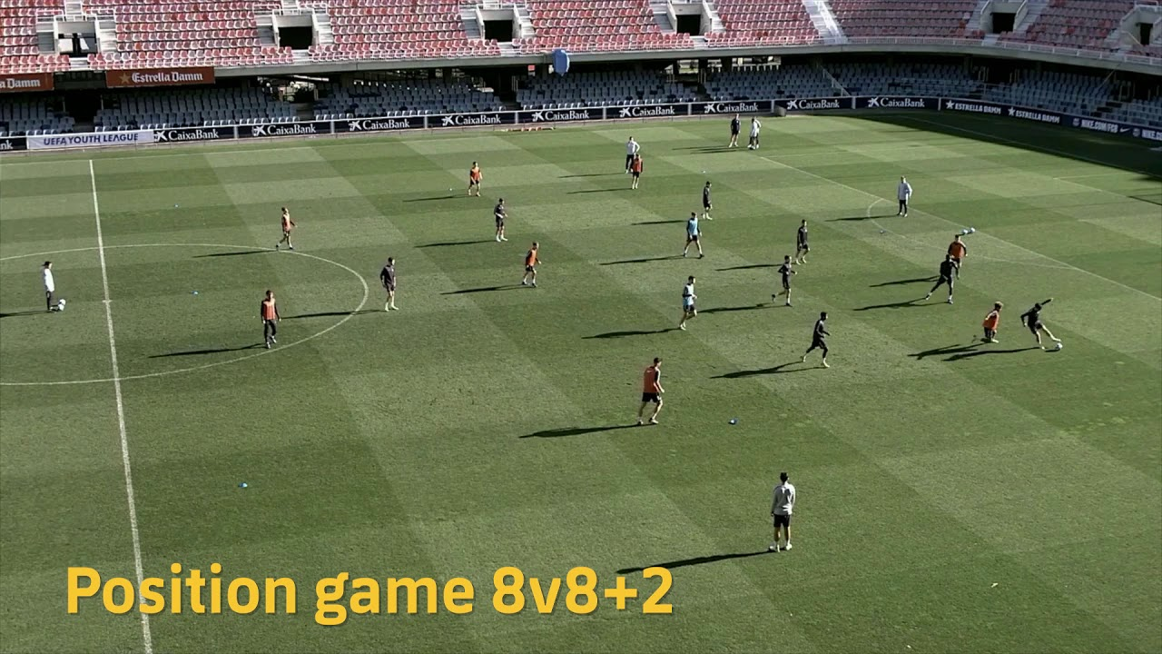 POSITION SPECIFIC & POSITIONAL PLAY TRAINING IN ELITE FOOTBALL