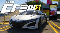 THE CREW 2 - Acura Nsx Custom & Test