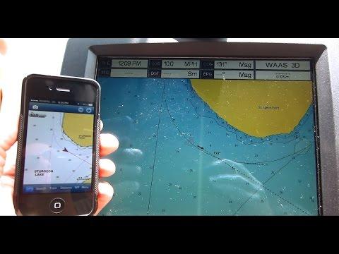 Cheap Marine GPS Chart Plotter For iPhone & Smart Phones