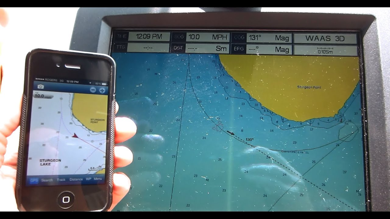 also cheap marine gps chart plotter for iphone  smart phones youtube rh