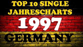 TOP 10 Single Jahrescharts Deutschland 1997 | Year-End Single Charts Germany | ChartExpress