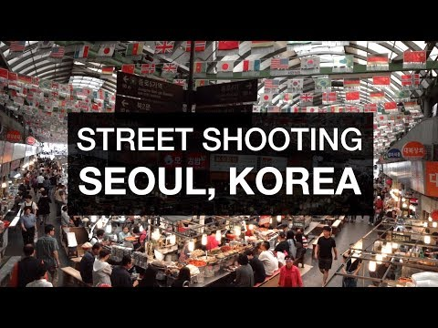Tips for Filming Strangers - Seoul Korea Travel Shooting