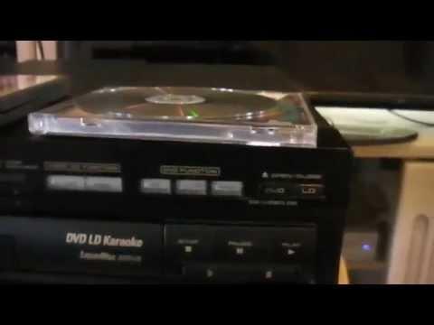 Pioneer DVL-V888 DVD,LD,CD,CD+G Karaoke player