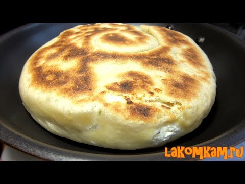 Cottage cheese bread in a pan. Best recipe