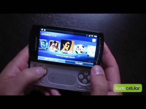 Sony Ericsson Xperia Play: Prova em vídeo || Tudocelular.com