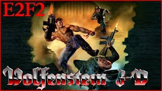 Let's Play Wolfenstein 3D (1992) Episode 13 - E2F2 Walkthrough - (HD Xbox One Gameplay Commentary)