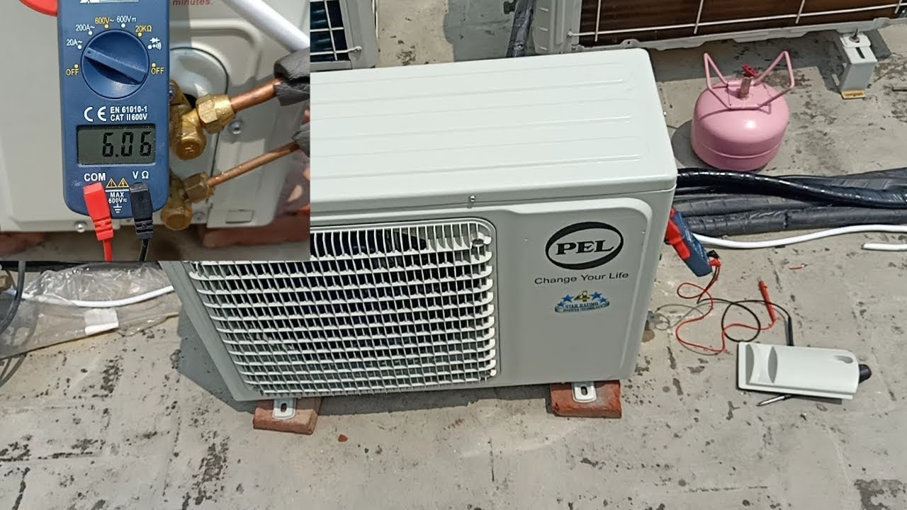 How long piping effect AC & How much gas needed