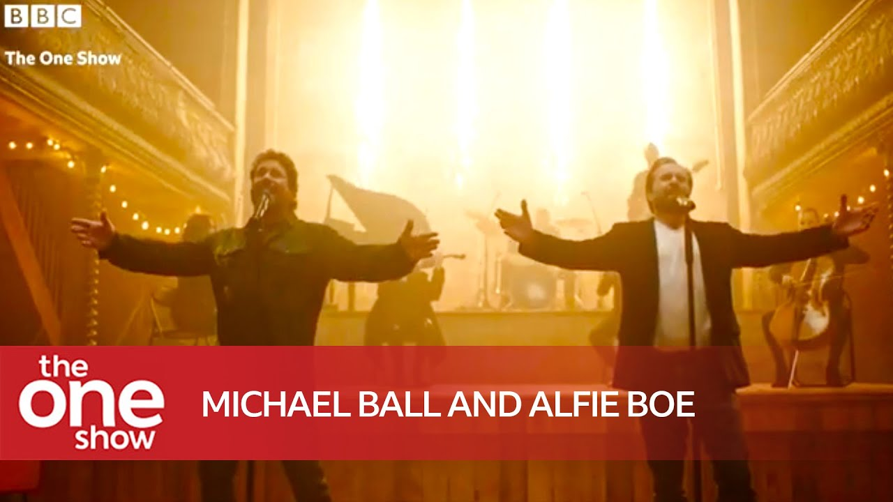 Michael Ball and Alfie Boe – I Believe  (Live on The One Show)