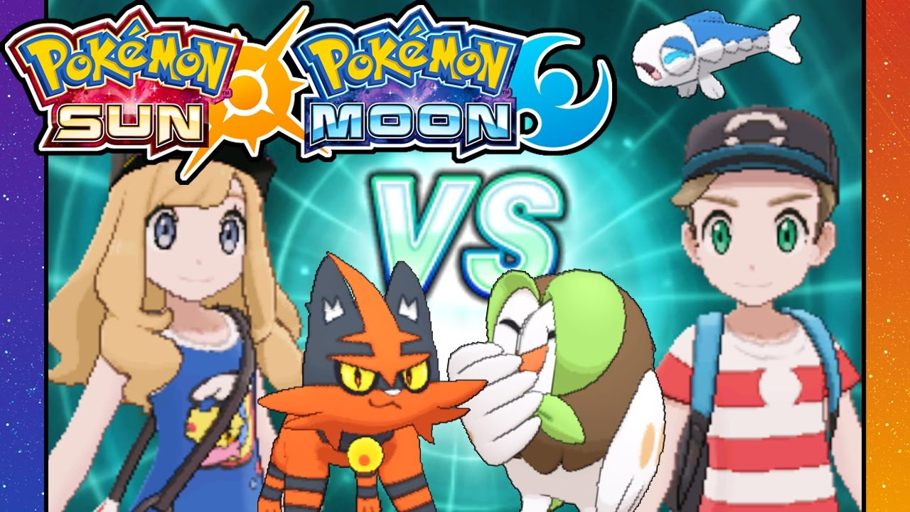 Pokemon Sun and Moon - 3DS Gameplay Walkthrough PART 17 - Rival Battle VS  Dani - Route 6 - Aether