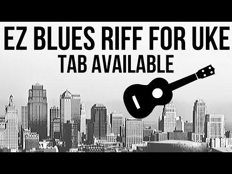 A Great Ukulele Blues Riff Tab Available Youtube