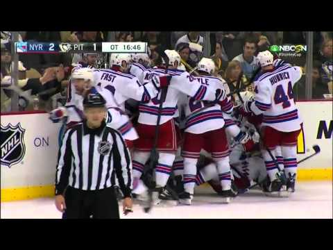 All Overtime goals from the 2015 NHL Playoffs In Order