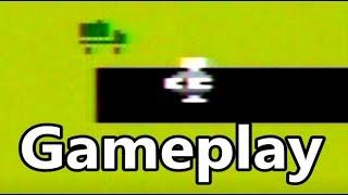 Planet Patrol Atari 2600 Gameplay
