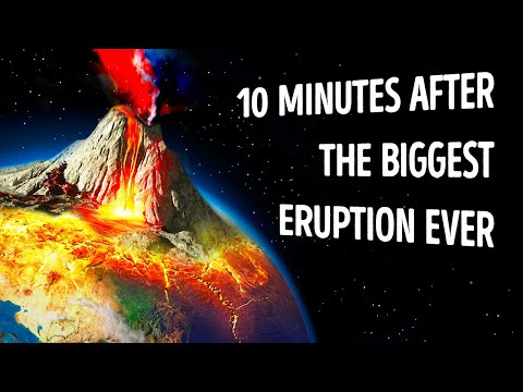 Watch What Happened 10 Minutes After the Biggest Eruption Ever