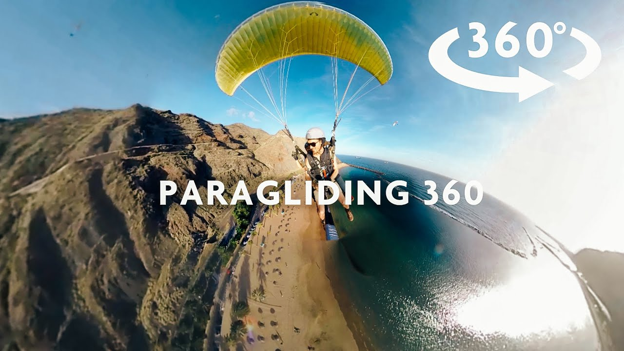 EPIC PARAGLIDING 360 VIDEO