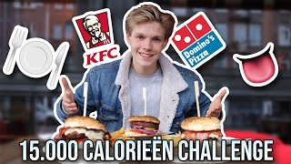 15,000 CALORIE CHALLENGE | EPIC CHEAT DAY!
