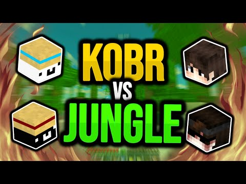 minecraft uhc run: kobr vs jungle! (180fps)