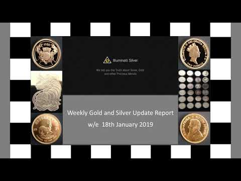 Gold and Silver weekly Update – w/e 18th January 2019