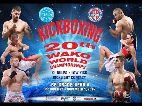WAKO World Championship Belgrade 2015 - Gala night