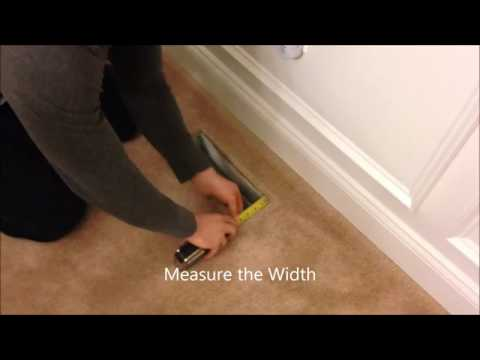 Vent Covers Unlimited How To Measure For A New Floor